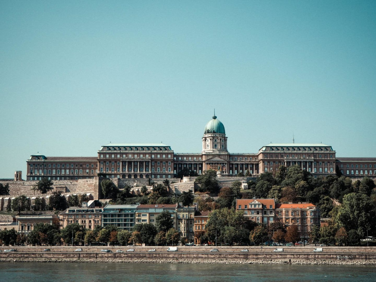 3 Day Budapest Itinerary - The Buda Palace from across the river