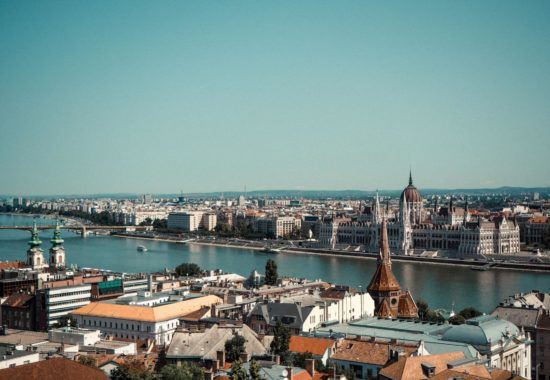 3 Day Budapest Itinerary - View across Budapest and the Danube river from the Fisherman's Bastion
