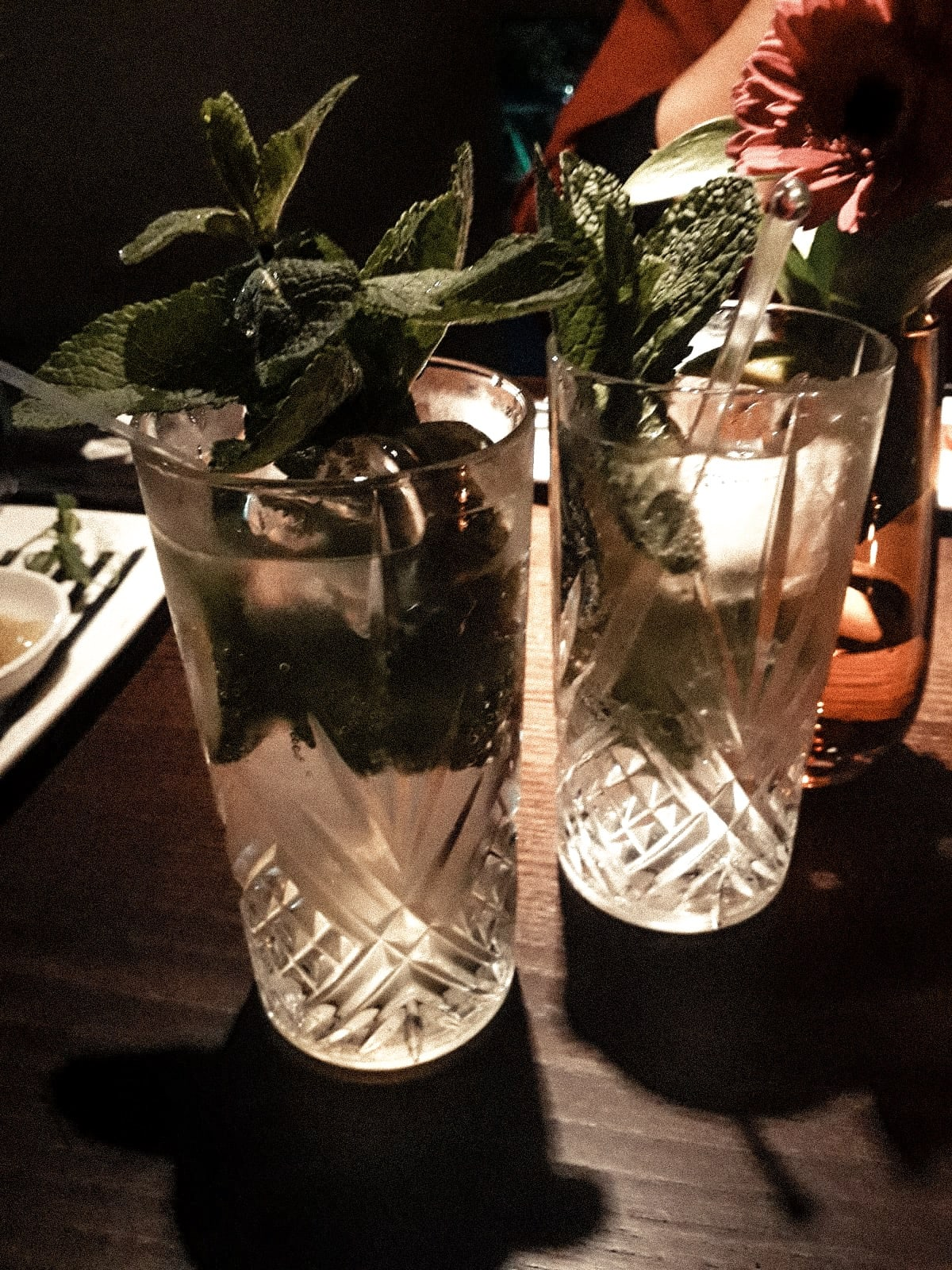 The Green Man Bar & Restaurant in Trumpington, Cambridge - Crushed Lime & Mint Soda