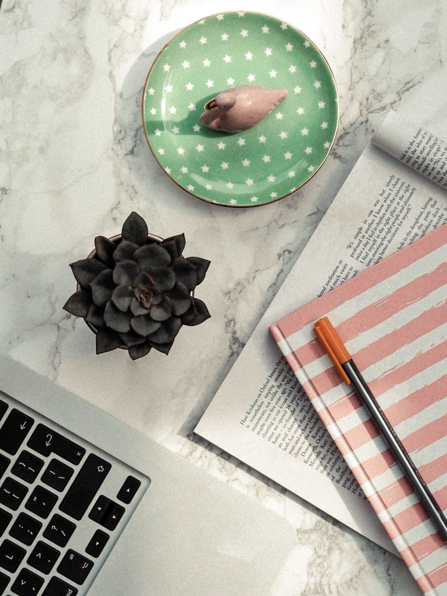 Building Your Blog Flatlay